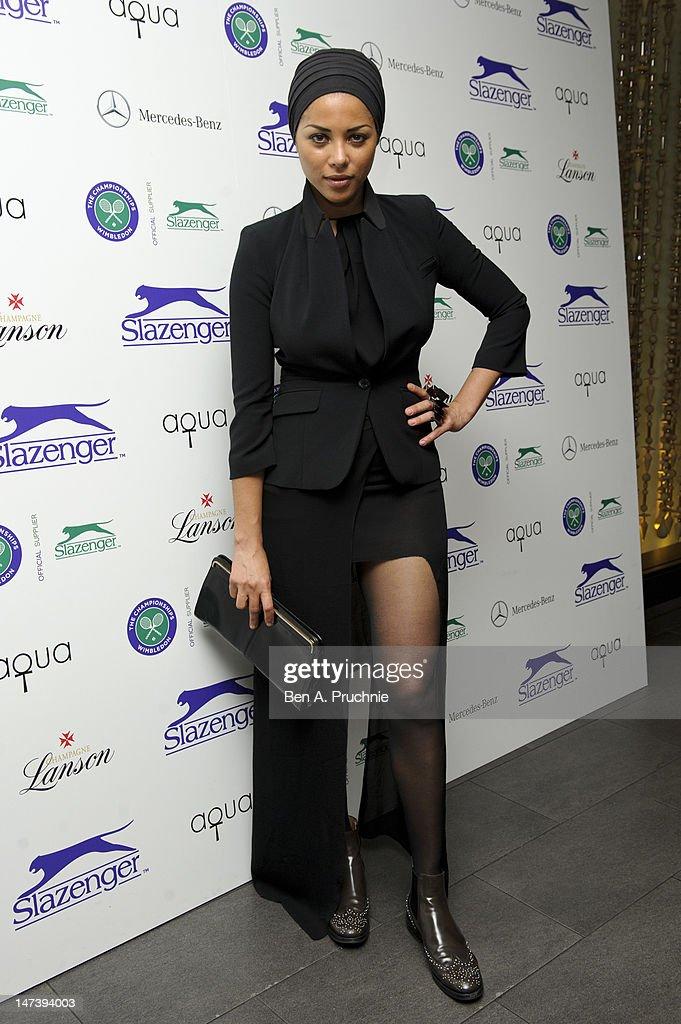 Ana Araujo attends The Slazenger Party 2012 at Aqua on June 28, 2012 in London, England.