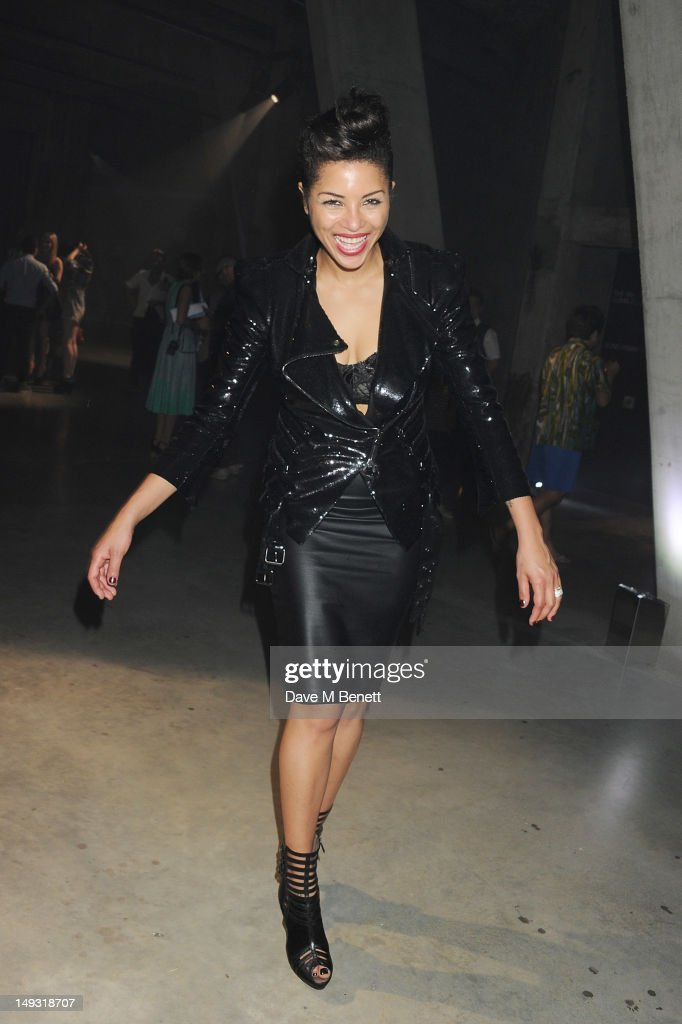 Ana Araujo attends the Warner Music Group Pre-Olympics Party in the Southern Tanks Gallery at the Tate Modern on July 26, 2012 in London, England