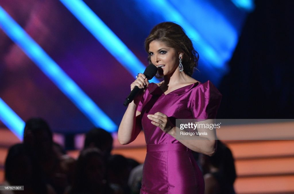 Ana Barbara performs at Billboard Latin Music Awards 2013 at Bank United Center on April 25, 2013 in Miami, Florida.