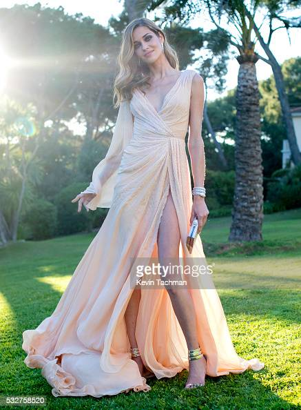 Ana Beatriz attends the amfAR's 23rd Cinema Against AIDS Gala at Hotel du CapEdenRoc on May 19 2016 in Cap d'Antibes France