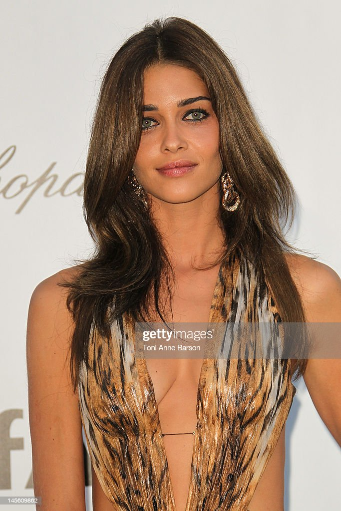 Ana Beatriz Barros arrives at amfAR's Cinema Against AIDS at Hotel Du Cap on May 24, 2012 in Antibes, France.