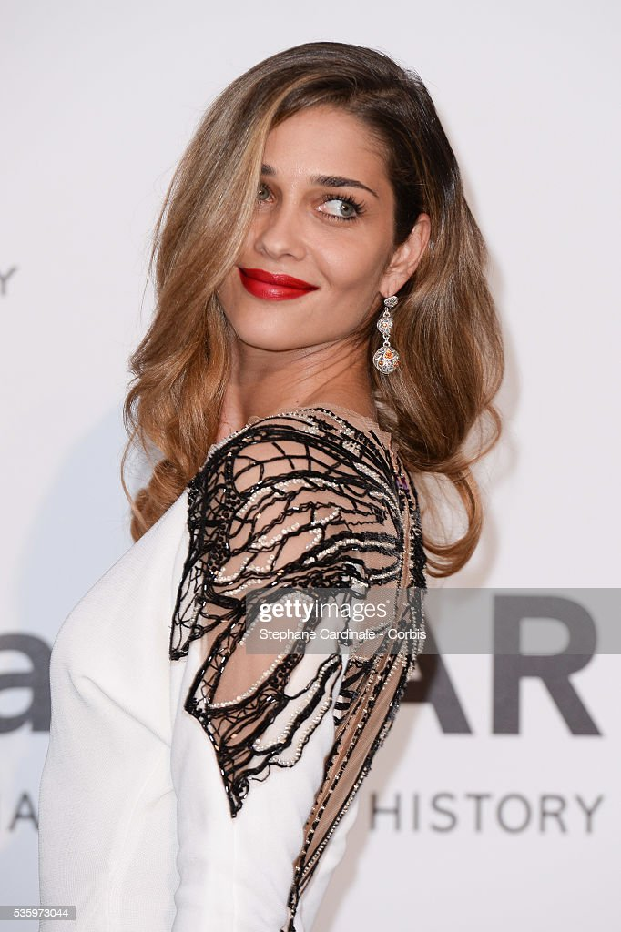 Ana Beatriz Barros at the amfAR's 21st Cinema Against AIDS Gala at Hotel du Cap-Eden-Roc during the 67th Cannes Film Festival