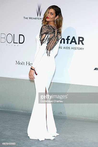 Ana Beatriz Barros attends amfAR's 21st Cinema Against AIDS Gala Presented By WORLDVIEW BOLD FILMS And BVLGARI at Hotel du CapEdenRoc on May 22 2014...