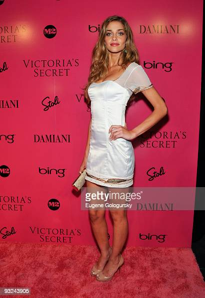 Ana Beatriz Barros attends the 2009 Victoria's Secret fashion show after party at M2 Ultra Lounge on November 19 2009 in New York City