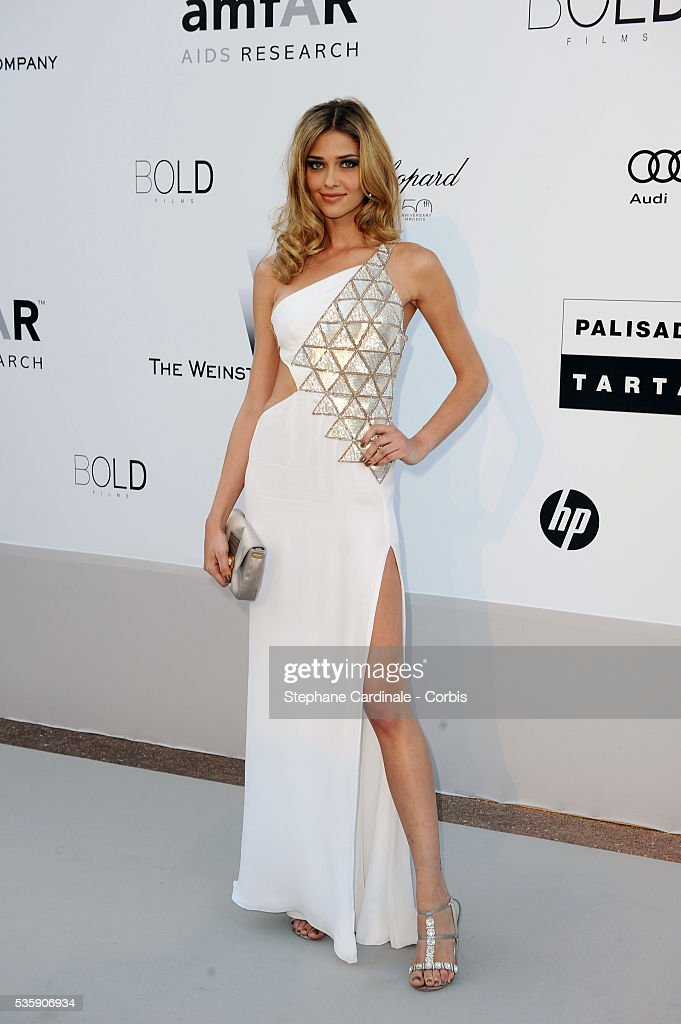 Ana Beatriz Barros attends the '2010 amfAR's Cinema Against AIDS' Gala