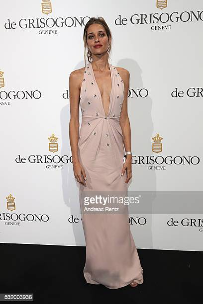 Ana Beatriz Barros attends the De Grisogono Party during the annual 69th Cannes Film Festival at Hotel du CapEdenRoc on May 17 2016 in Cap d'Antibes...