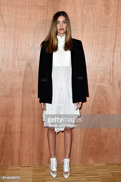 Ana Beatriz Barros attends the Givenchy show as part of the Paris Fashion Week Womenswear Fall/Winter 2016/2017 on March 6 2016 in Paris France