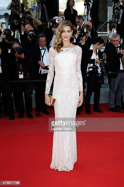 Ana Beatriz Barros attends the 'Inside Out' premiere during the 68th annual Cannes Film Festival on May 18 2015 in Cannes France