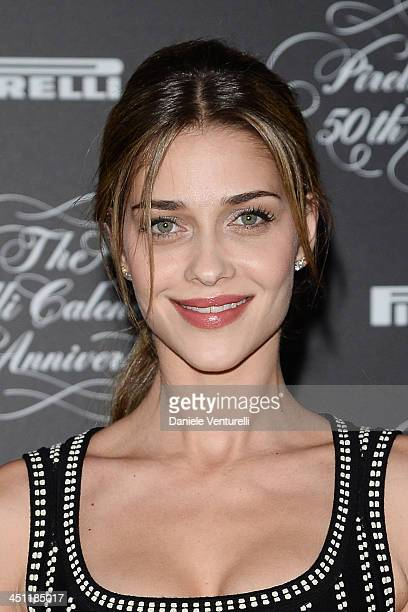 Ana Beatriz Barros attends the Pirelli Calendar 50th Anniversary Red Carpet on November 21 2013 in Milan Italy