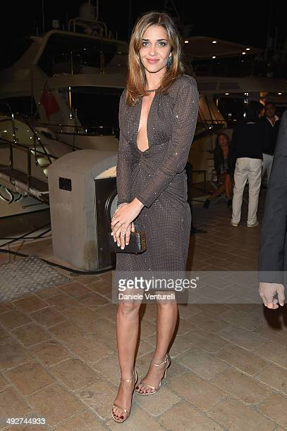 Ana Beatriz Barros attends the Roberto Cavalli yacht party at the 67th Annual Cannes Film Festival on May 21 2014 in Cannes France
