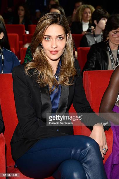 Ana Beatriz Barros attends the The Pirelli Calendar 50th Anniversary Press Conference on November 21 2013 in Milan Italy