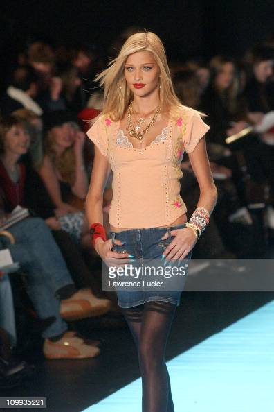 Ana Beatriz Barros during Faces From The Betsey Johnson Fashion Show at The Pavilion in Bryant Park in New York New York United States