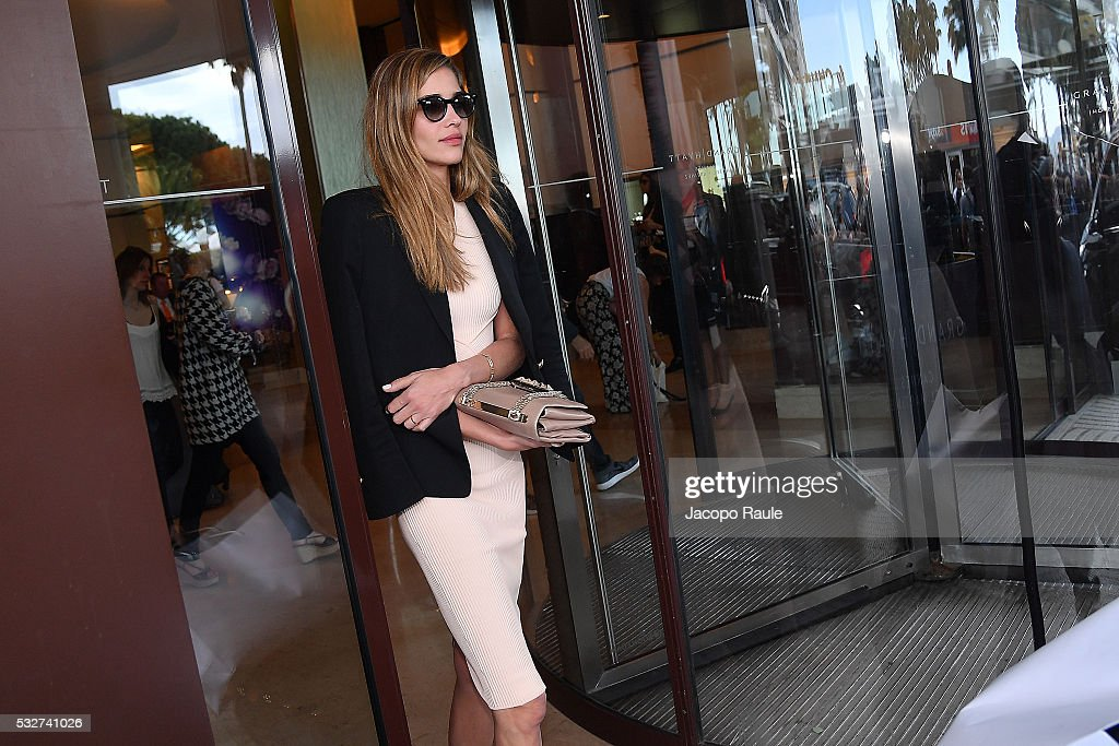 Ana Beatriz Barros is seen at Hotel Martinez during the annual 69th Cannes Film Festival at on May 19 2016 in Cannes France