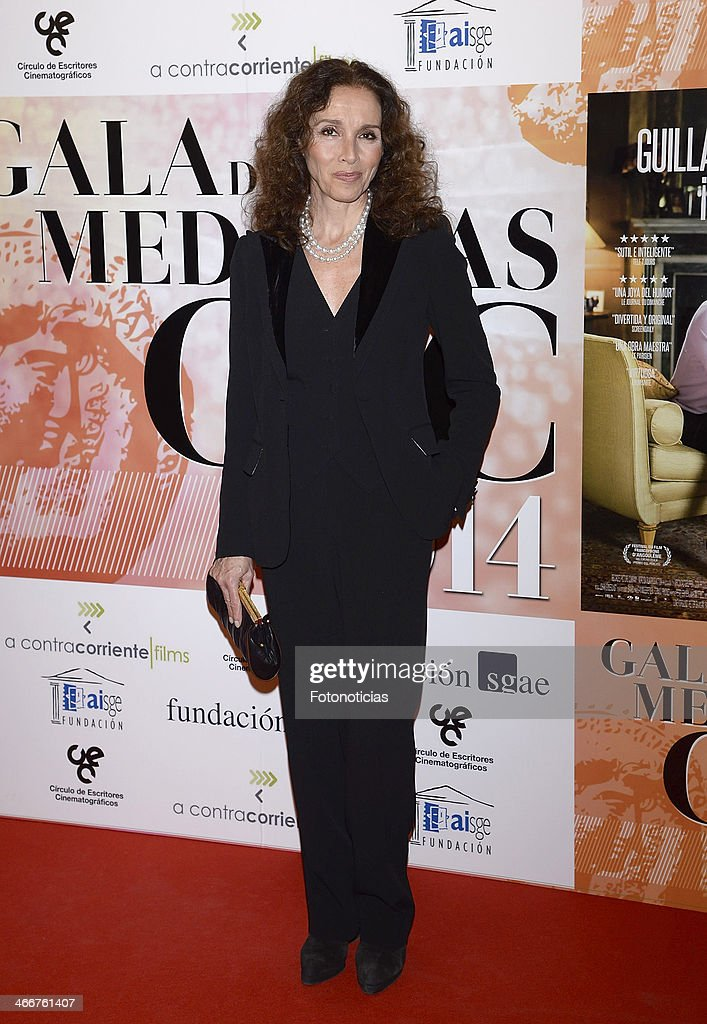 Ana Belen attends the 'CEC' medals 2014 ceremony at the Palafox cinema on February 3, 2014 in Madrid, Spain.