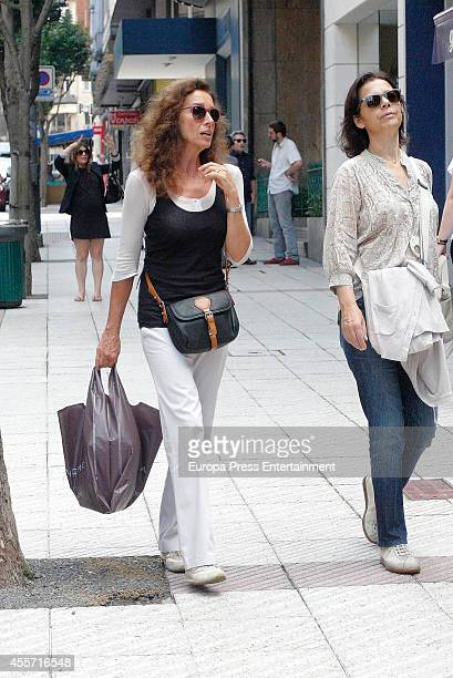 Ana Belen is seen on September 11 2014 in Oviedo Spain