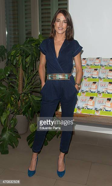 Ana Bono attends Patricia Perez's new book 'Yo si que cocino' press conference at Navarro herbalist on April 21 2015 in Madrid Spain