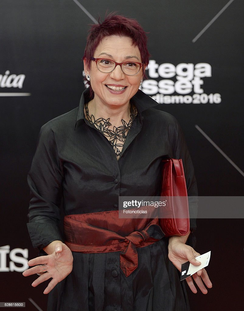 Ana Bosch attends the El Pais 40th anniversary dinner and 'Ortega y Gasset' awards ceremony at the Palacio de Cibeles on May 5, 2016 in Madrid, Spain.