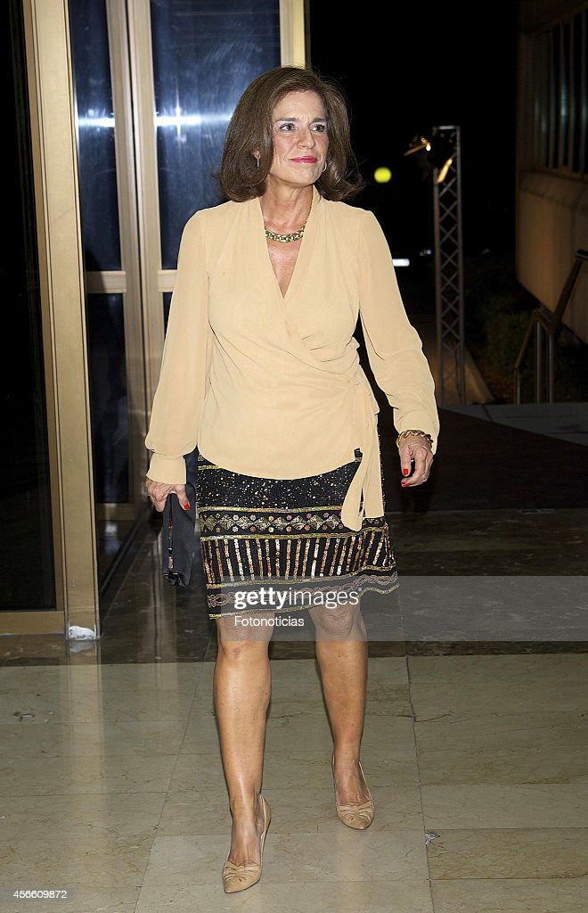 Ana Botella attends a dinner in honour of the 'Mariano de Cavia' 'Luca de Tena' and 'Mingote' awards winners at Casa de ABC on October 3 2014 in...