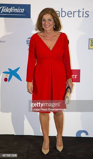 Ana Botella attends International Journalism Award and the 25th Anniversary of 'El Mundo' newspaper at The Westin Palace Hotel on October 20 2014 in...