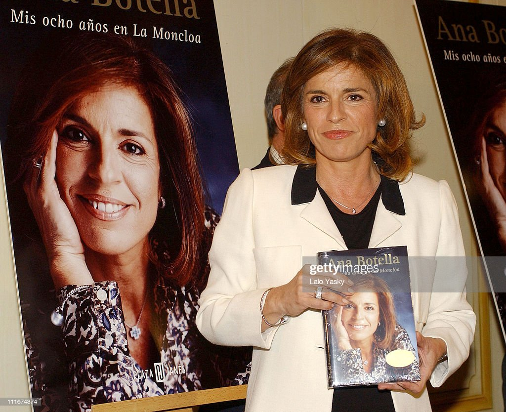 Ana Botella during Ana Botella's 'Eight Years in Moncloa' Book Launch Madrid at Palace Hotel in Madrid Spain