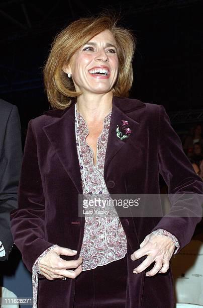 Ana Botella wife of Spanish President Jose Maria Aznar