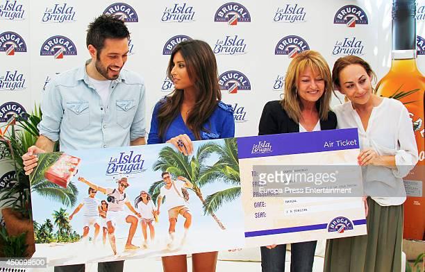 Ana Boyer and Dani Martinez present 'La Isla Brugal' on June 4 2014 in MADRID Spain