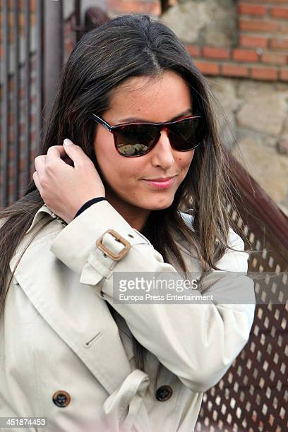 Ana Boyer attends 30th birthday party of the tennis player Fernando Verdasco on November 15 2013 in Madrid Spain