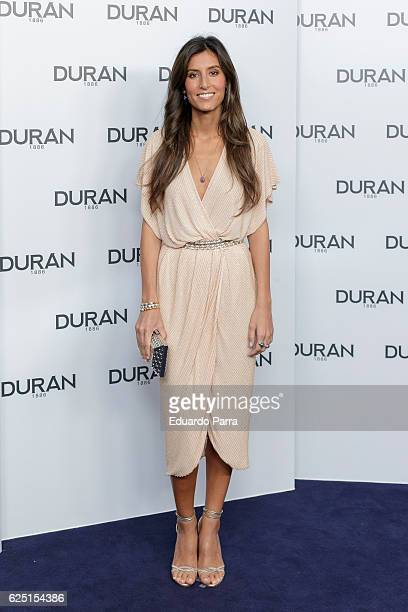 Ana Boyer attends the Pedro Duran 130th anniversary photocall at Duran House on November 22 2016 in Madrid Spain