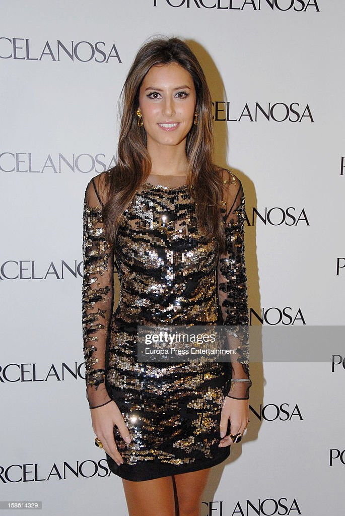 <a gi-track='captionPersonalityLinkClicked' href=/galleries/search?phrase=Ana+Boyer&family=editorial&specificpeople=4043272 ng-click='$event.stopPropagation()'>Ana Boyer</a> attends the Porcelanosa new store opening on December 20, 2012 in Seville, Spain.