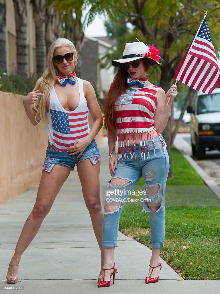 Phoebe Price Paris Photo Shoot - Ana braga and phoebe price are seen on july 03 2016 in los angeles