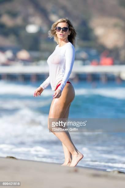 Ana Braga is seen on June 21 2017 in Los Angeles California