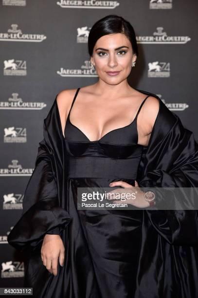 Ana Brenda Contreras arrives for the JaegerLeCoultre Gala Dinner during the 74th Venice International Film Festival at Arsenale on September 5 2017...