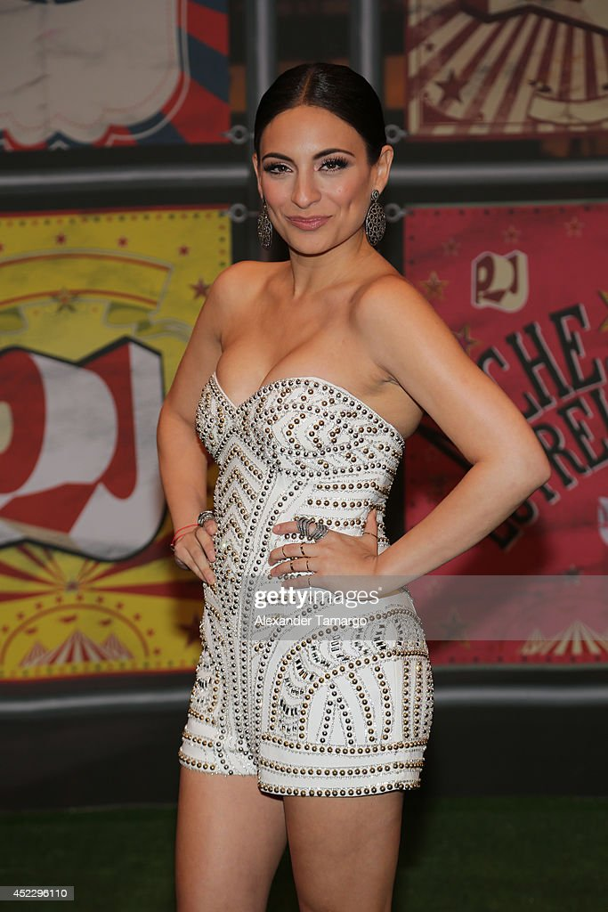 Ana Brenda Contreras attends the Premios Juventud 2014 at The BankUnited Center on July 17, 2014 in Coral Gables, Florida.