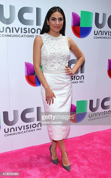 Ana Brenda Contreras attends Univision's 2015 Upfront at Gotham Hall on May 12 2015 in New York City
