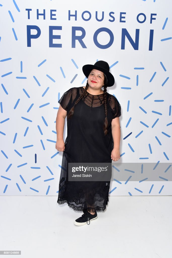 Ana Calderon attends St. Vincent & Peroni Nastro Azzurro Unveil Second Edition of The House of Peroni House of Peroni on October 5, 2017 in New York City.