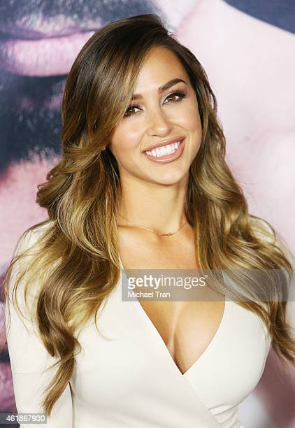 Ana Cheri arrives at the Los Angeles premiere of 'Manny' held at TCL Chinese Theatre on January 20 2015 in Hollywood California