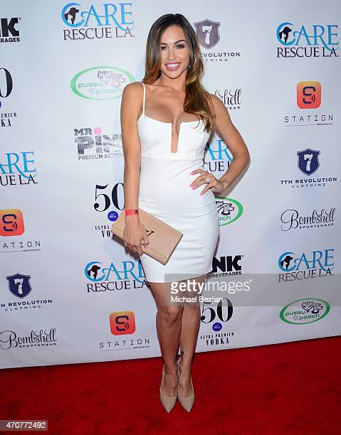 Ana Cheri attends Babes In Toyland Charity Toy Drive at Boulevard3 on April 22 2015 in Hollywood California