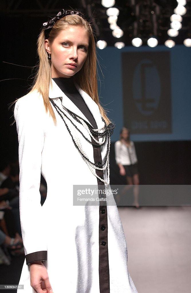 Ana Claudia Michels during Goias Marca Moda Fashion Shows Eddie David at Oliveira's Place in Goiania Goias Brazil