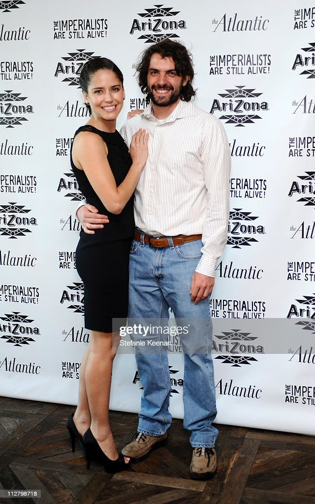 Ana Claudia Talancon and Jose Maria De Tavira attend The Atlantic Magazine And AriZona Beverages Los Angeles Premiere Of 'The Imperialists Are Still Alive!' at Soho House on April 19, 2011 in West Hollywood, California.