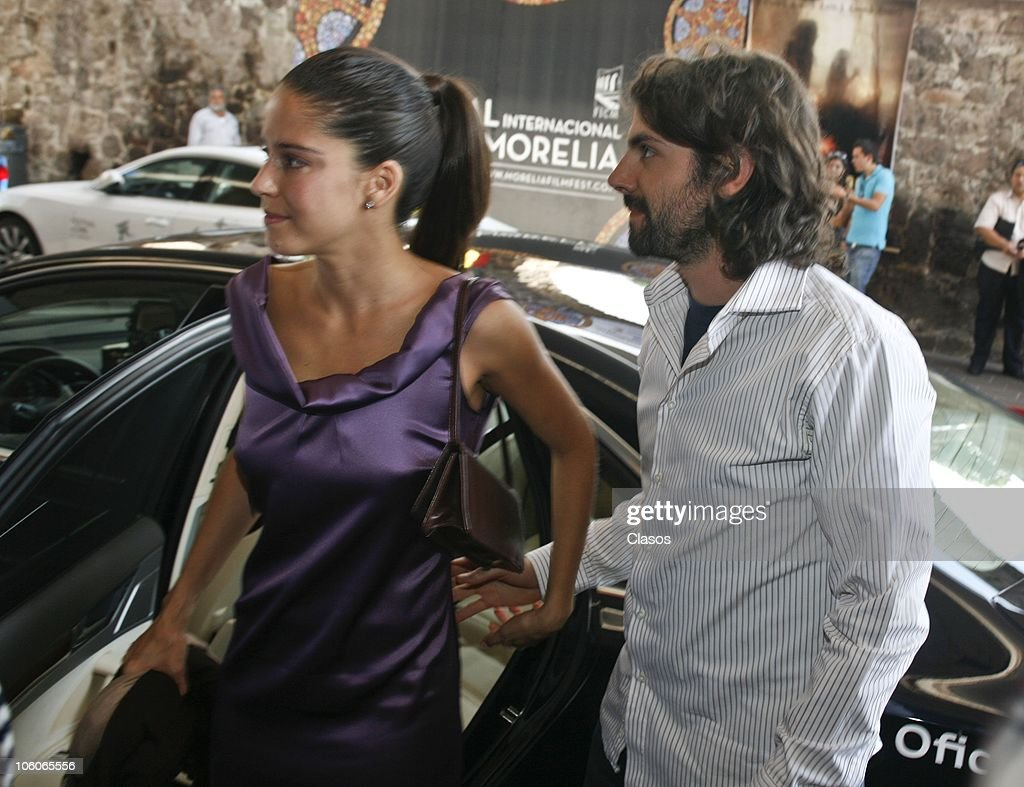 Ana Claudia Talancon and Jose Maria de Tavira attend to the El Baile de San Juan movie premiere during the 8th Morelia International Film Festival on October 22, 2010 in Morelia, Mexico.