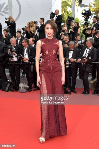 Ana Cleveland attends the 'The Killing Of A Sacred Deer' screening during the 70th annual Cannes Film Festival at Palais des Festivals on May 22 2017...