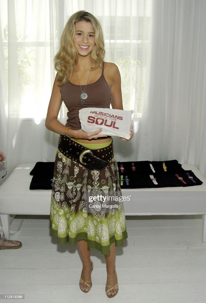 Ana Cristina during 2005 MTV VMA Grubman/Cheban PR Presents Pippo Italia Day 3 at Catalina Hotel in Miami Florida United States