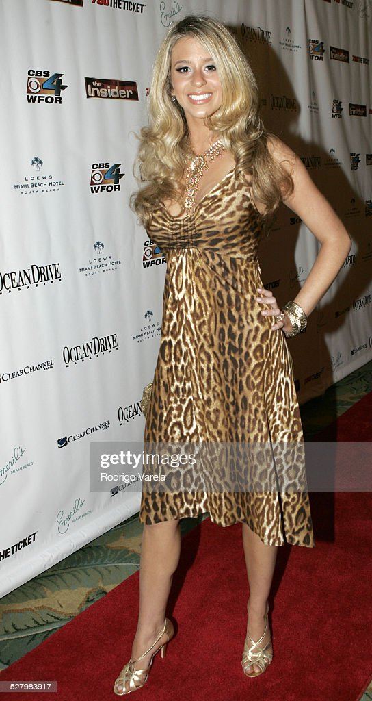 Ana Cristina during Miami Rocks For Relief Benefiting Hurricane Katrina Victims at Lowes Hotel in Miami Beach Florida United States