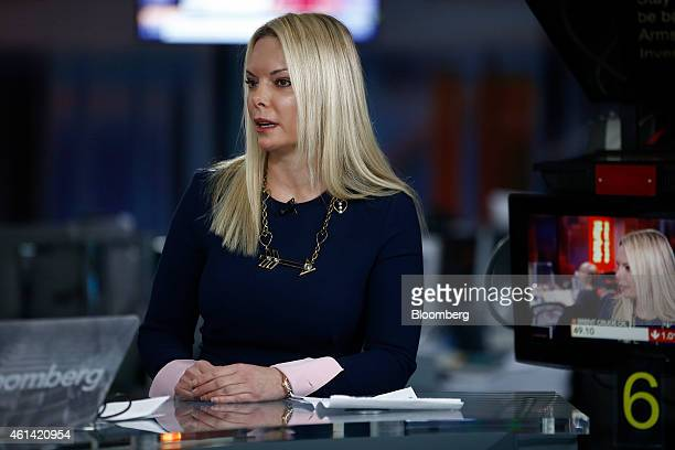 Ana Cukic Armstrong chief executive officer of Armstrong Investment Managers LLP speaks during a Bloomberg Television interview in London UK on...