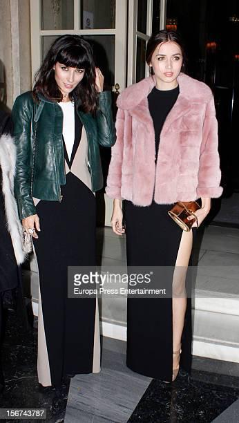Ana de Armas and Barbara Goenaga arrive at GQ Men of the Year Awards 2012 at Palace Hotel on November 19 2012 in Madrid Spain