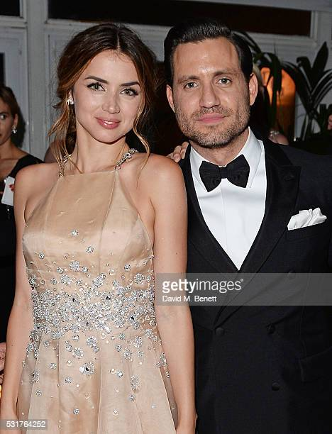 Ana de Armas and Edgar Ramirez attend The Weinstein Company's HANDS OF STONE After Party In Partnership With De Grisogono At Nikki Beach Carlton...