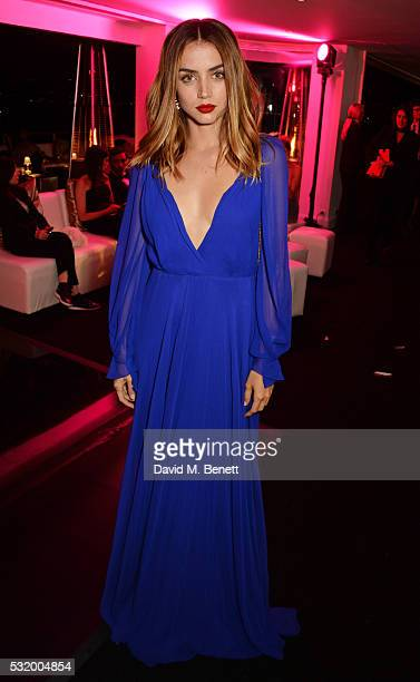Ana de Armas attends the de Grisogono party during the 69th Cannes Film Festival at Hotel du CapEdenRoc on May 17 2016 in Cap d'Antibes France