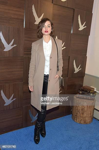 Ana de Armas attends the GREY GOOSE Blue Door on January 24 2015 in Park City Utah