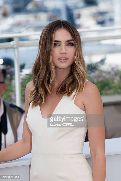 Ana de Armas attends the 'Hands Of Stone' Photocall during the 69th annual Cannes Film Festival on May 16 2016 in Cannes France