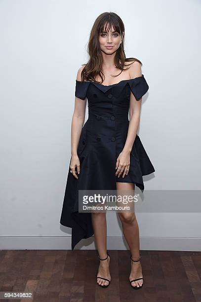 Ana de Armas attends the 'Hands Of Stone' US premiere after party at The Redbury New York on August 22 2016 in New York City